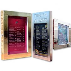 Menu Cases - LED Lit